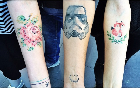 Cross_Stitch_Tattoos_by_Eva_Krbdk_3